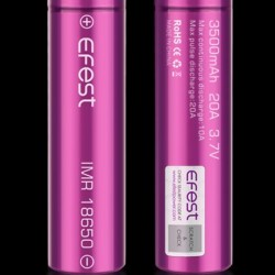 Efest 3500Mah IMR 18650 Flat Top Battery