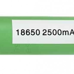 Samsung 2500mAh Flat Top Battery 18650