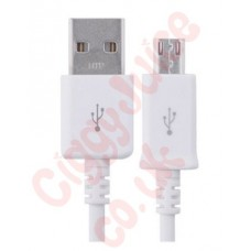 USB - Micro USB Cable 100cm White