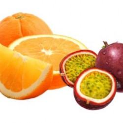 Orange and Passion Fruit