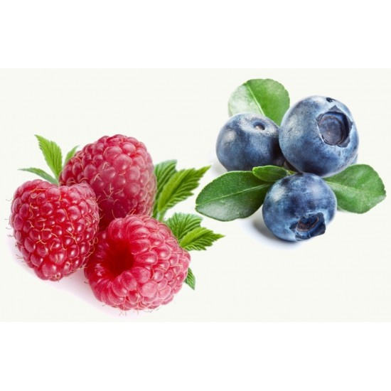 Raspberry and Blueberry