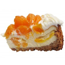 Orange and Mandarin Cheesecake