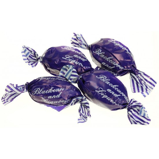 Blackcurrant and Liquorice sweets (0mg)
